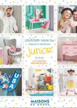 Catalogues et collections Maisons du Monde : Mobilier et Décoration Junior 2015-2016