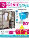 Prospectus Gifi REDON : Les Génie Days