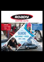 Prospectus Roady : Guide automne hiver 2015-2016