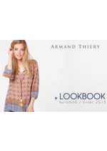 Catalogues et collections Armand Thiery : Le lookbook automne hiver 2015