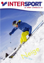 Catalogues et collections Intersport : Catalogue neige 2015-2016