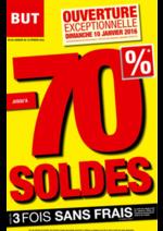 Prospectus BUT : Soldes : -70%