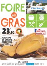 Prospectus E.Leclerc : Foire au gras