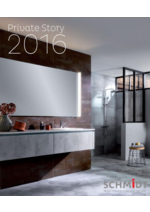 Catalogues et collections Cuisines Schmidt : Private Story 2016