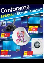 Prospectus Conforama : Spécial Techno Addict