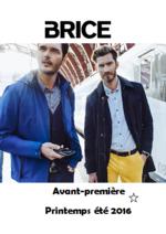 Catalogues et collections Brice : Avant-première de la nouvelle collection printemps été 2016