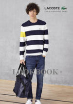 Catalogues et collections Lacoste : Lookbook The Ultra Marine Collection