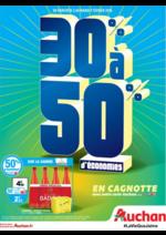 Prospectus Auchan : 30% à 50% d'économies