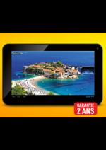 Catalogues et collections ELECTRO DEPOT : Votre tablette tactile à 89,98€