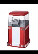 Catalogues et collections ELECTRO DEPOT : Nouveau : la machine à pop corn à 24,88€