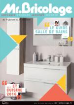 Prospectus Mr Bricolage : Le guide salle de bains et cuisine 2016