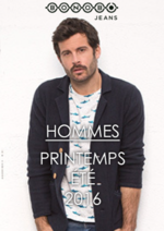 Catalogues et collections Bonobo : Lookbook homme printemps été 2016