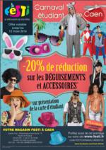 Promos et remises Festi : 20% sur les déguisements et accessoires