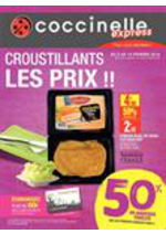 Prospectus Coccinelle Express : Croustillants les prix !!