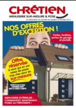 Prospectus CHRETIEN MATERIAUX : Nos offres d'exception !