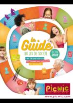 Catalogues et collections Picwic : Le guide du jeu de société 2016