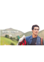 Catalogues et collections Quiksilver : Le catalogue Optics S1 2016