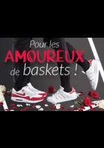 Catalogues et collections chausport : La Saint-Valentin des amoureux de baskets