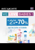 Bons Plans Monoprix : We love babies ! Le 2ème à -70% avec la carte