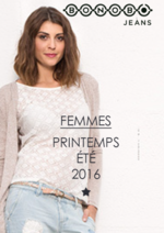 Catalogues et collections Bonobo : Le lookbook femme printemps été 2016