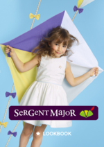 Catalogues et collections Sergent Major : Lookbook enfant Soleil et fil d'or