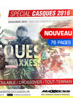 Catalogues et collections Maxxess : Le catalogue casques 2016