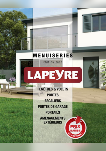 catalogue menuiseries 2016 lapeyre. Black Bedroom Furniture Sets. Home Design Ideas