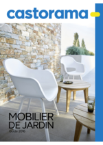 Catalogues et collections Castorama : Guide 2016 Mobilier de jardin