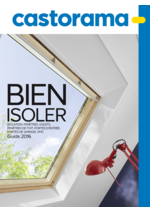 Catalogues et collections Castorama : Guide 2016 Bien isoler
