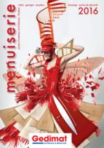 Catalogues et collections Gedimat : Catalogue 2016 Menuiserie