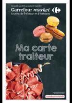 Prospectus Carrefour Market : Ma carte traiteur