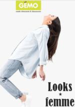 Catalogues et collections Gemo : Les looks femme du moment