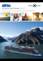 Catálogos e Coleções Abreu : Celebrity Cruises 2016