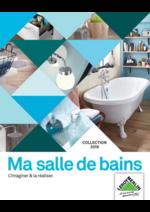 Catalogues et collections Leroy Merlin : Ma salle de bains l'imaginer & la réaliser Collection 2016