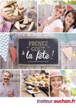 Prospectus Auchan : Prenez goût à la fête
