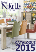 Catalogues et collections Meubles Nikelly : Catalogue 2015 / 2016