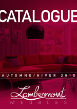 Catalogues et collections Meubles Lambermont  : Catalogue Meubles