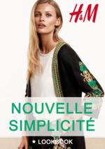 Catalogues et collections H&M : Le lookbook Nouvelle simplicité