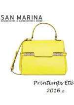 Catalogues et collections San Marina : Lookbook femme printemps-été 2016