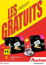 Prospectus Auchan : Les gratuits !