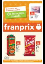 Prospectus Franprix : Les beaux jours arrivent !