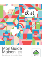 Catalogues et collections Leroy Merlin : Et si ... Mon guide Maison printemps 2016