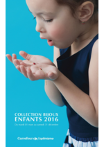 Promos et remises  : Collection Bijoux Enfants 2016