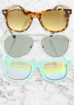 Catalogues et collections claire's : Craquez pour les lunettes de soleil