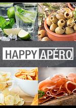Promos et remises  : Happy apéro