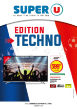 Prospectus Super U : Édition techno