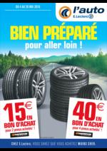 Prospectus L'auto E.Leclerc : Bien préparé pour aller loin !