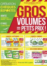 Prospectus Match : Gros volumes = petits prix !