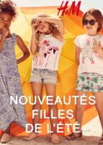 Catalogues et collections H&M : Les nouveautés filles de l'été