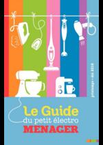 Catalogues et collections Compétence : Le guide du petit éléctroménager Printemps Eté 2016